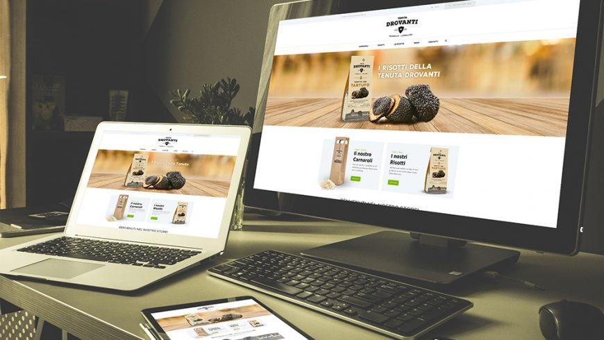 On line il nuovo sito di Tenuta Drovanti